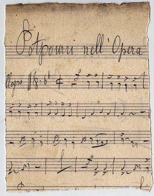 8 Vintage Ephemera Script Pieces With Images Old Sheet Music