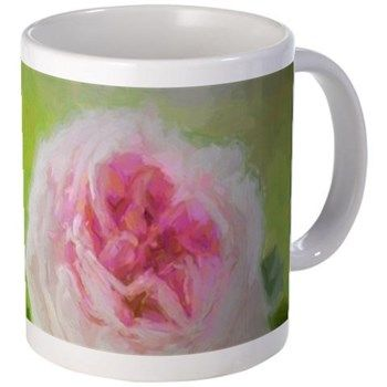 Painted Rose Mugs