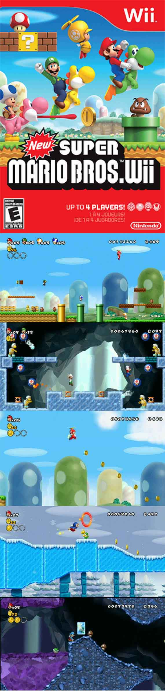 New #SuperMario Bros Wii gives #gamers more #2Dplatforming #Mario!  http://www.levelgamingground.com/new-super-mario-bros-wii-review.html