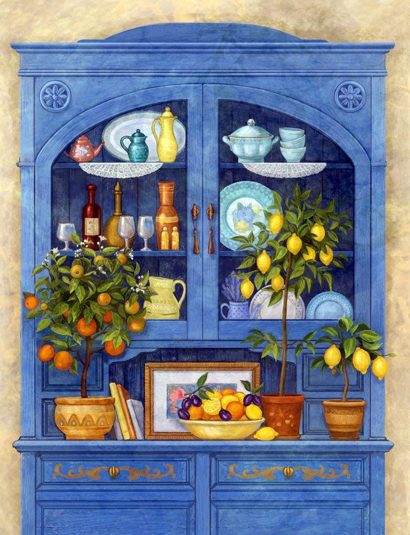 Грустные картинки, открытки кухонные