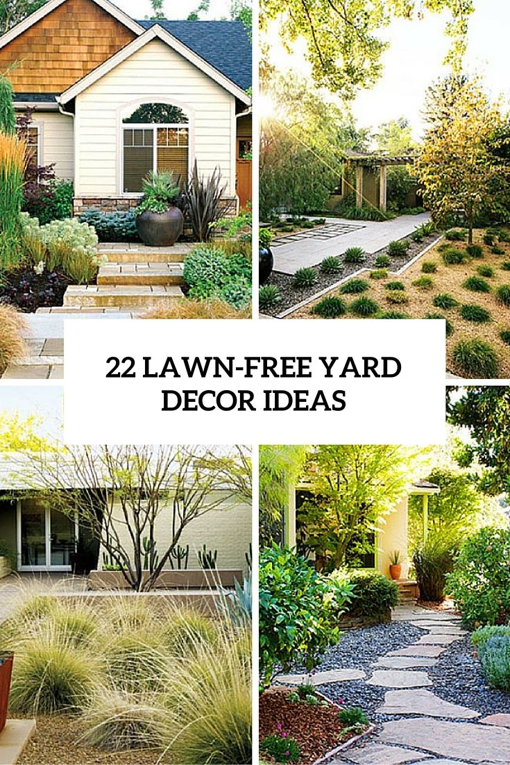 22 Lawn Free Yard Decor Ideas Cover