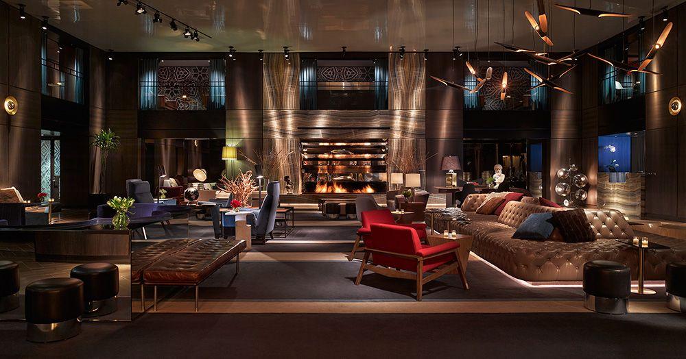 Paramount Hotel Paramount Hotel New Interior Design Hotels Design