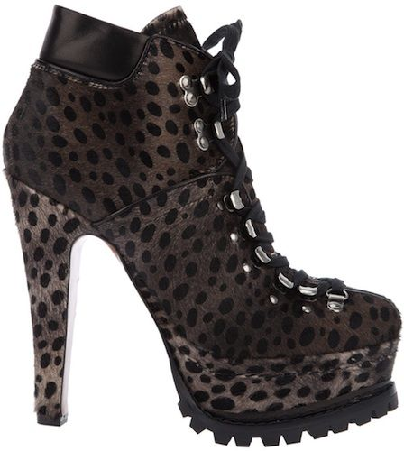 Alaïa Ponyhair Platform Booties find great official online best wholesale sale online clearance authentic XpaUMh