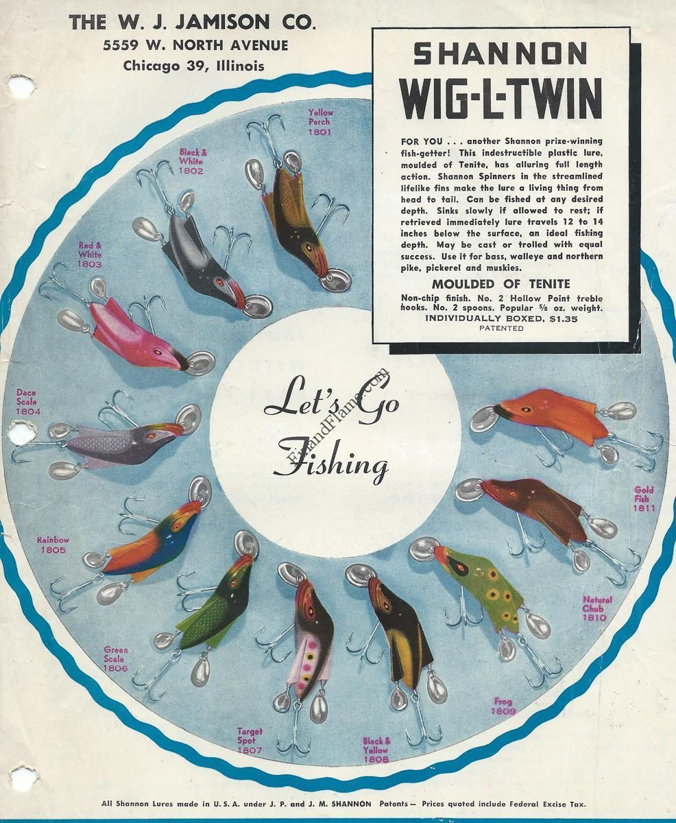 Jamison wig l twin lure color chart fishing pinterest colour jamison wig l twin lure color chart nvjuhfo Image collections