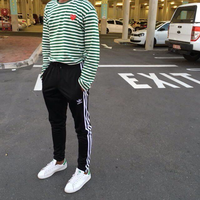 cdg converse mens outfit