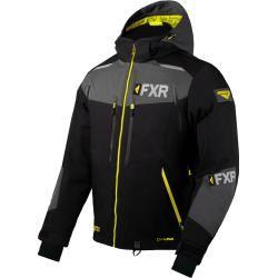 Fxr Renegade X4 Jacke Schwarz Grau Gelb M