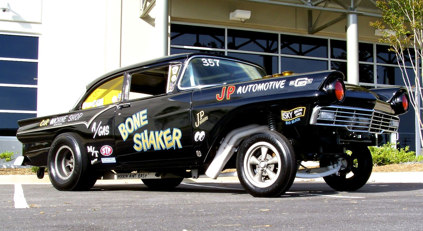 The Bone Shaker 1957 Ford Gasser Is For Sale! Injected Boss 429 ...