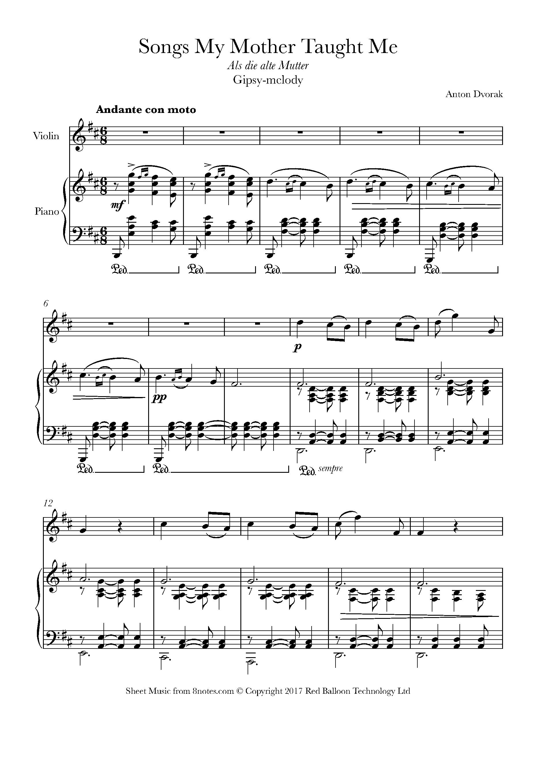 gypsy song