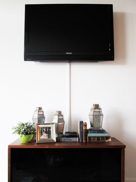 cheap tv cord solution