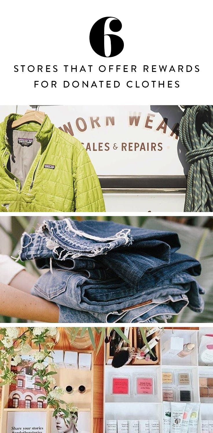 6 Stores Where You Can Donate Old Clothes for a Sweet Reward is part of Clothes Store Money - OK, so you finally cracked down, got super honest and seriously cleaned out your wardrobe  You've got a solid pile to take to Goodwill (duh), but did you know that some of your favorite stores also accept donations and give you free stuff in return  Let's take a look at your