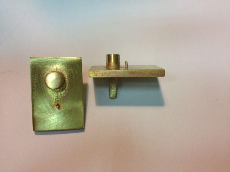 Alambre del oído Hook bucles de 8-10 mm unannealed