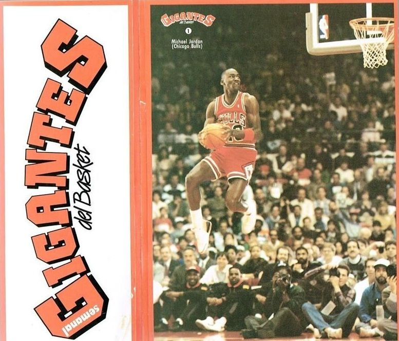 1989 michael jordan spanish baloncesto 1 gigantes basket