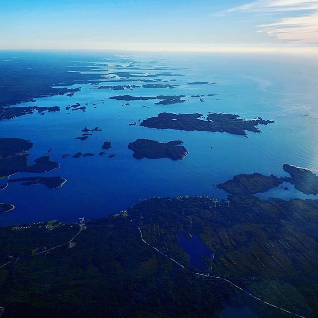 from @lesperancetim Nova Scotia's Eastern Shore from just a touch