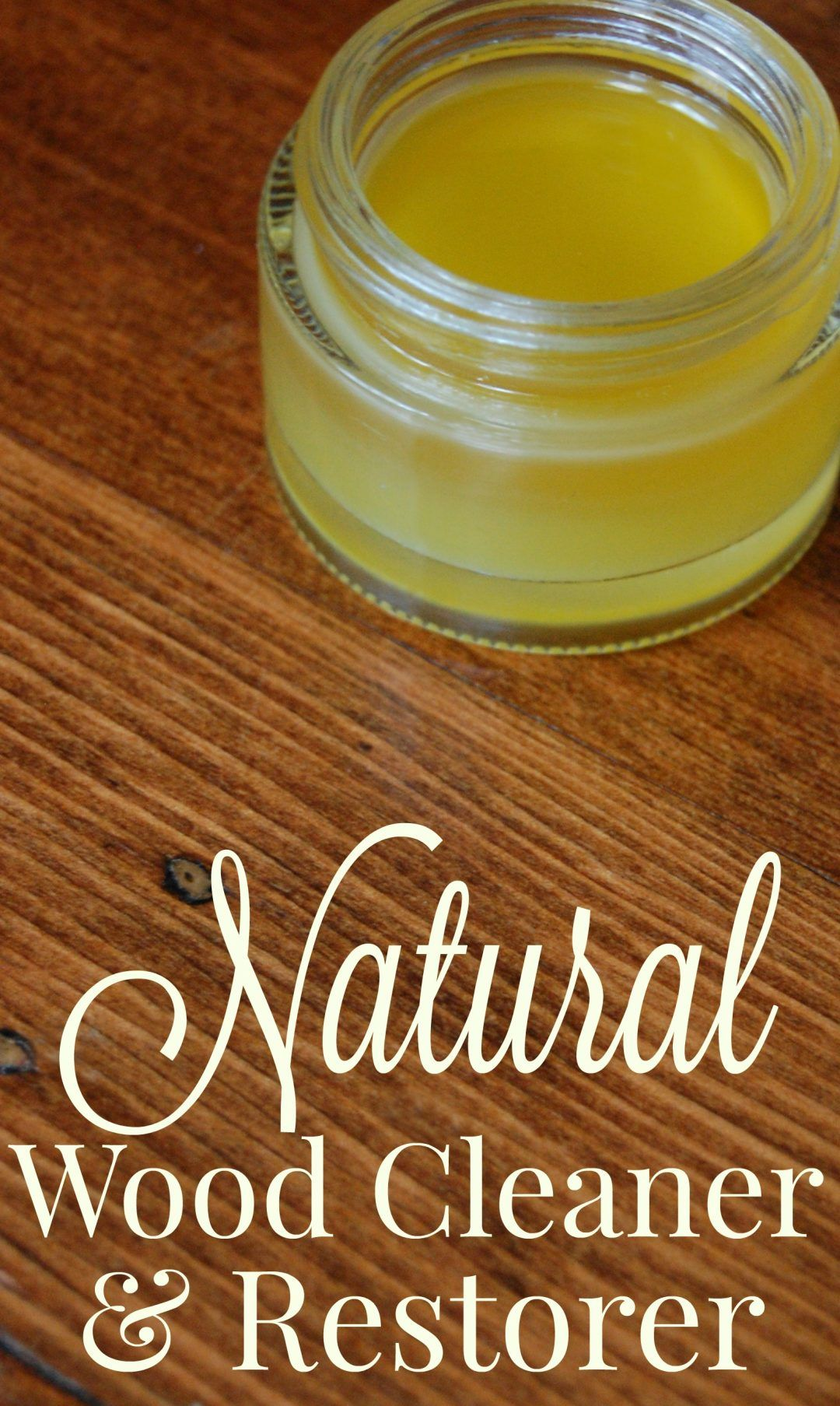 Natural Wood Cleaner And Restorer