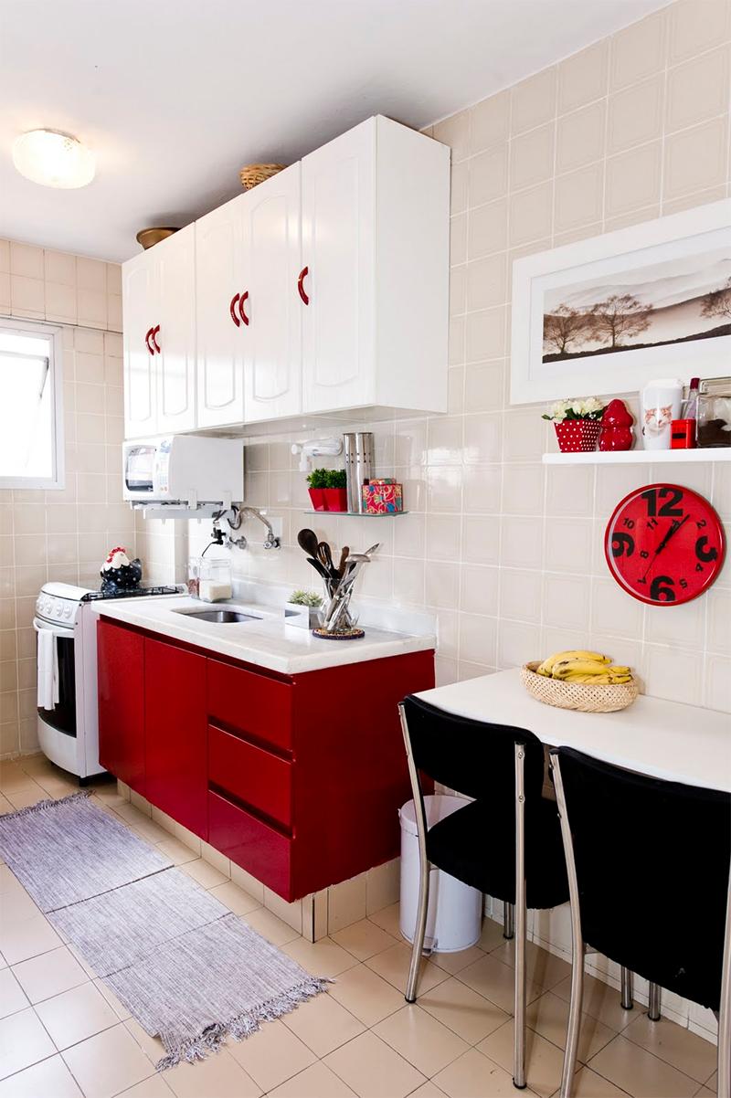Cores Na Decora O Cozinha Vermelha Pinterest Decora O Cozinha