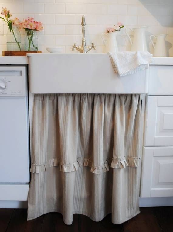 Room · Really Like This Under Sink Curtain.