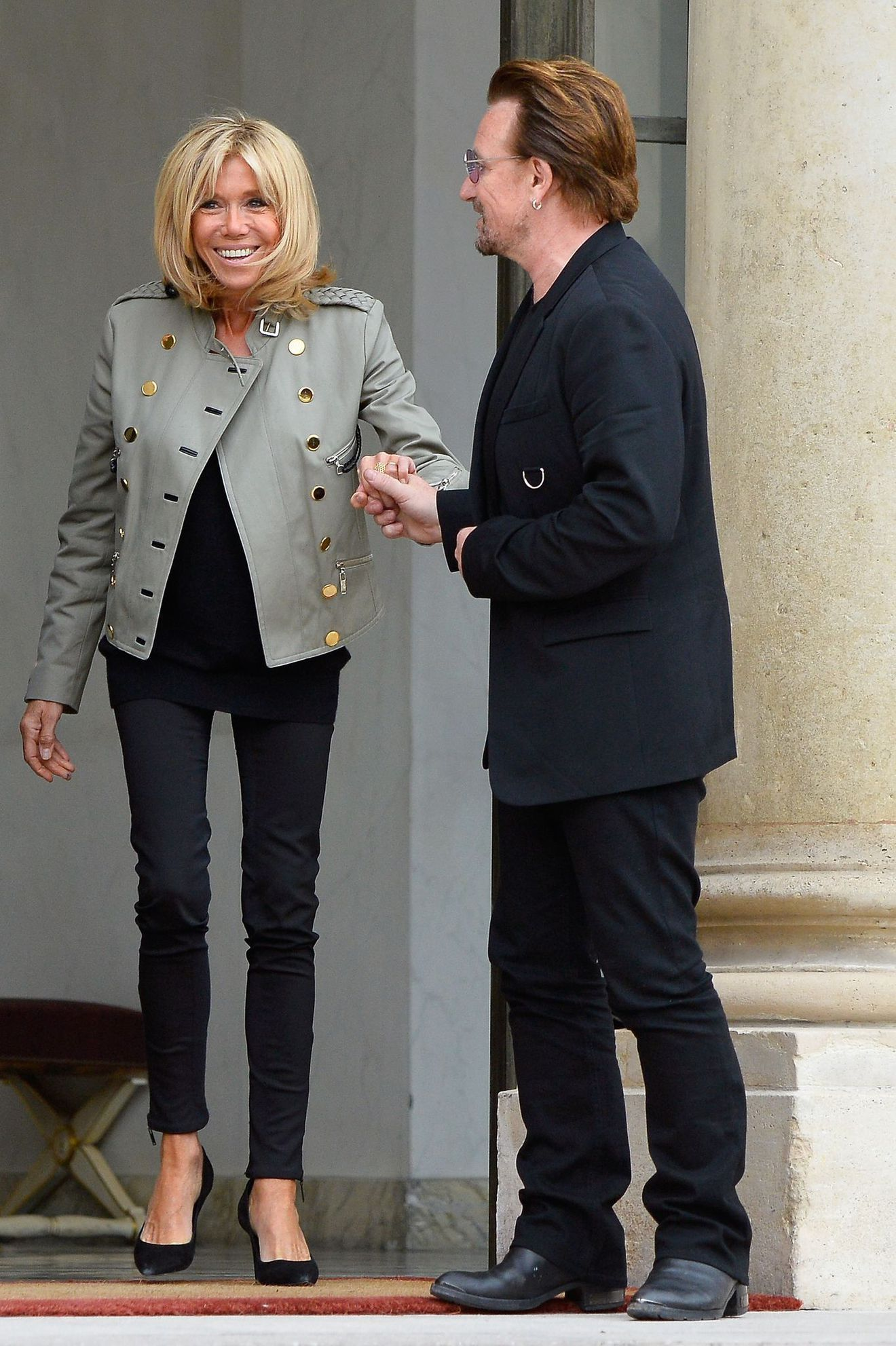 Le style de Brigitte Macron en images L'Express Styles