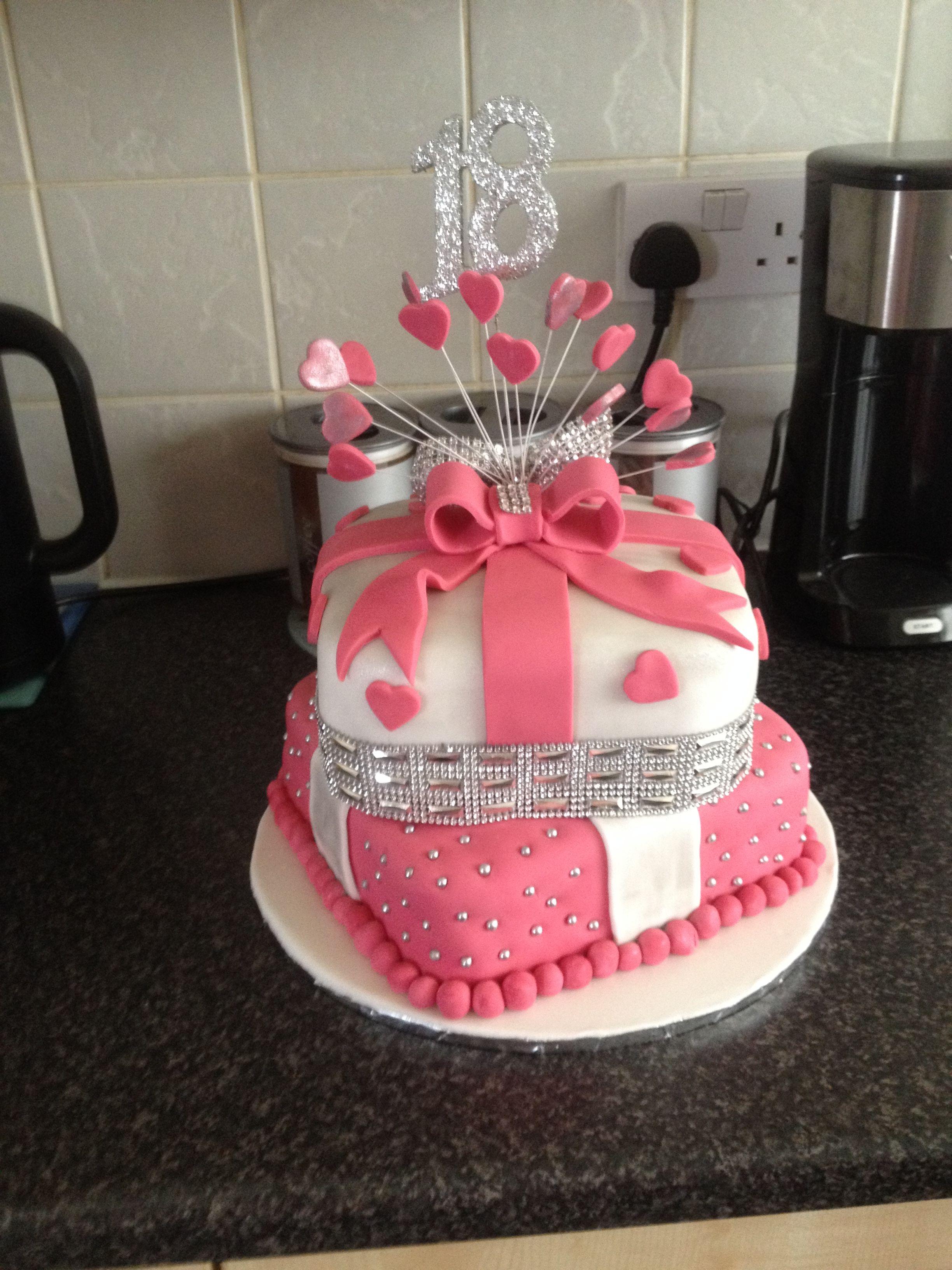 18 Th 2 Tier Cake I Made