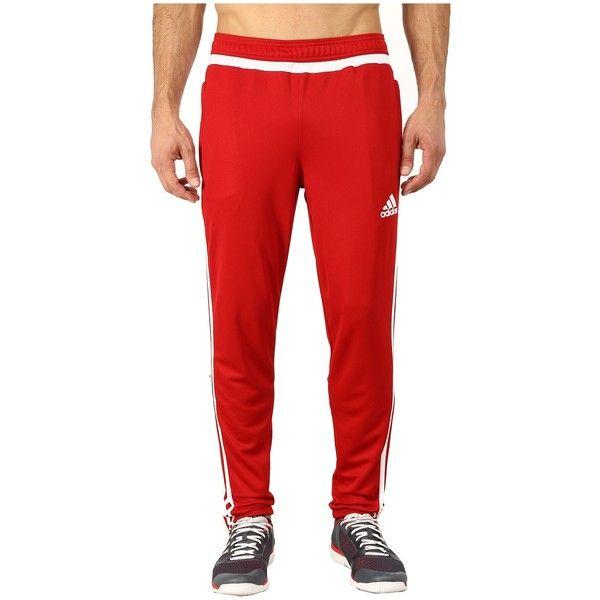 adidas Tiro 15 Training Pant (Power RedWhite) Men's Workout
