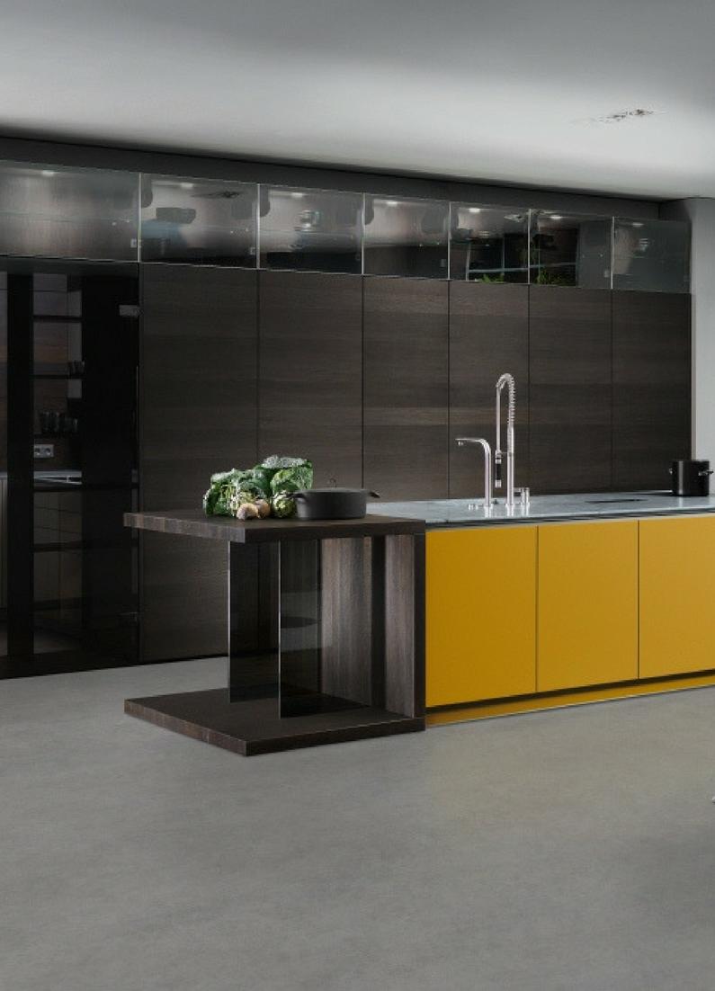 Ideen für die Renovierung: 7 moderne Küchen mit Kochinsel als ... | {Moderne küchen mit insel holz 15}