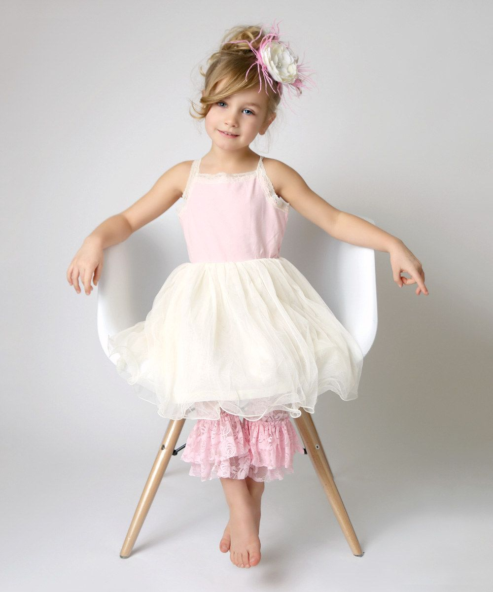 Lace dress for baby girl  Look at this Lollies and Lace Boutique Strawberries u Cream Lace