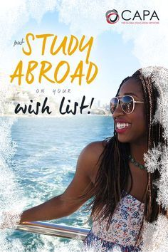 Add Study Abroad to your holiday wish list - SAVE 50% on your application fee!