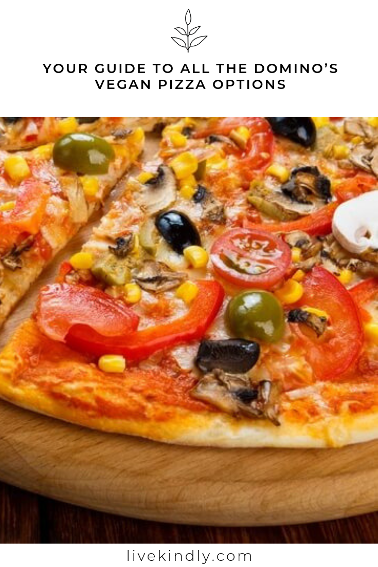 Your Guide To All The Domino S Vegan Pizza Options Vegan Pizza Vegan Restaurants Vegan Menu