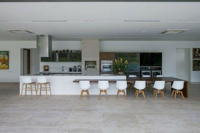 99 idées de cuisine moderne où le bois est à la mode Kitchens and