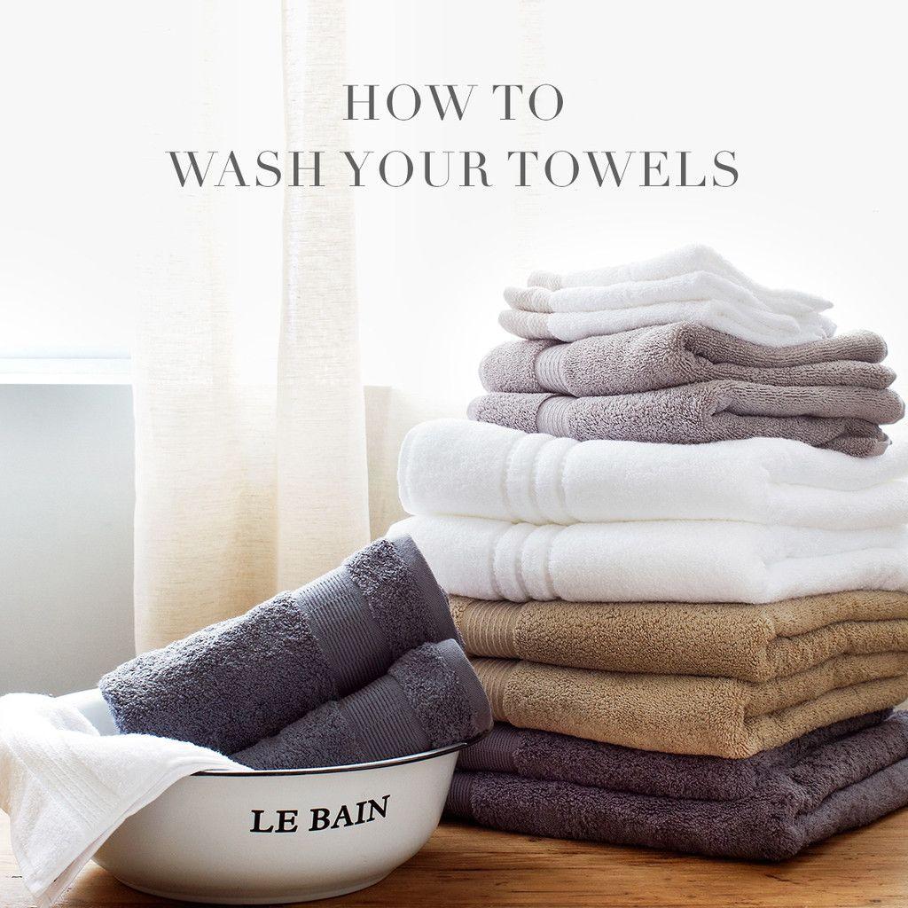 Au Lit Fine Linens How to Wash Your Towels Towel, Fine
