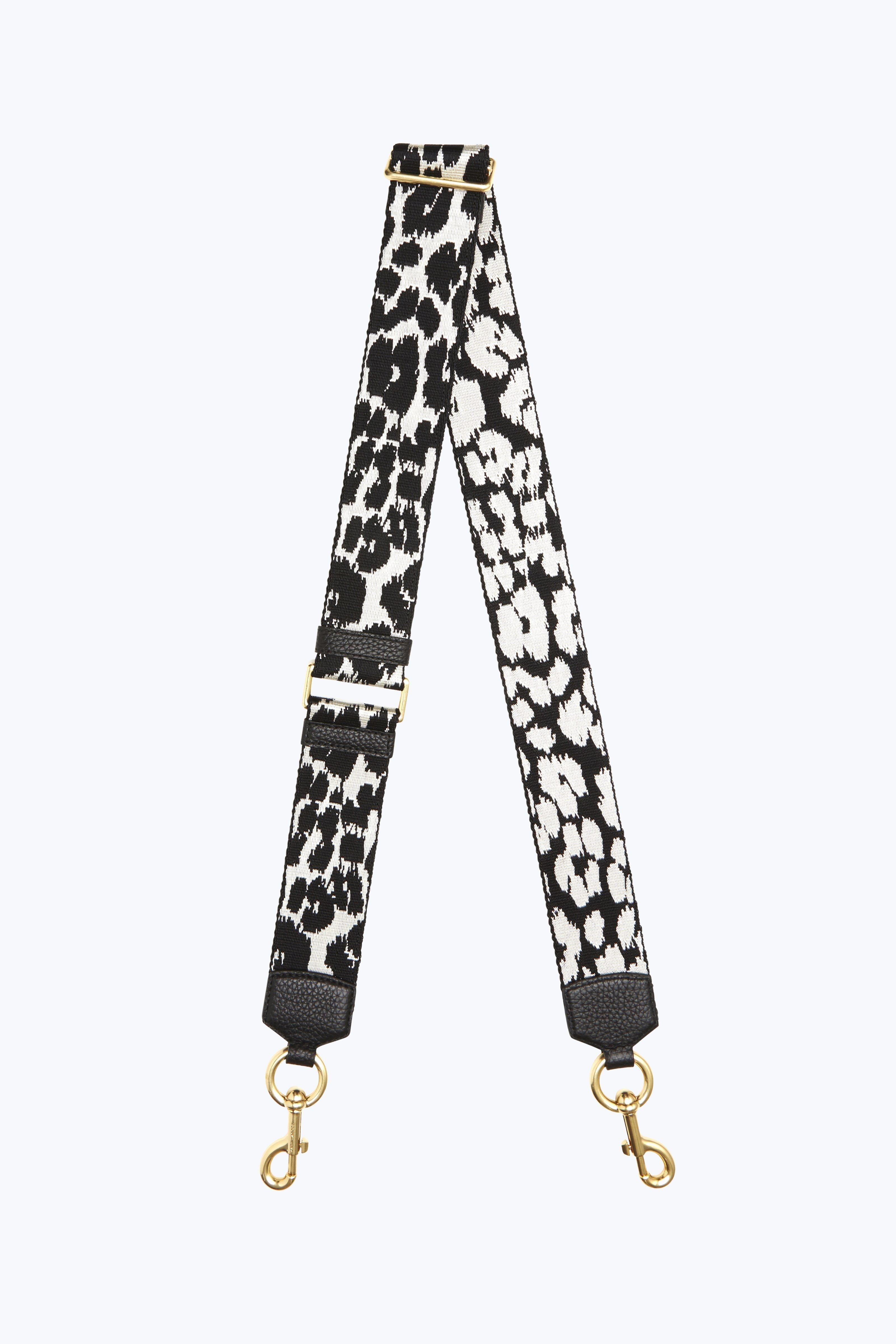 Marc Jacobs Webbed Leopard Bag Strap Marcjacobs