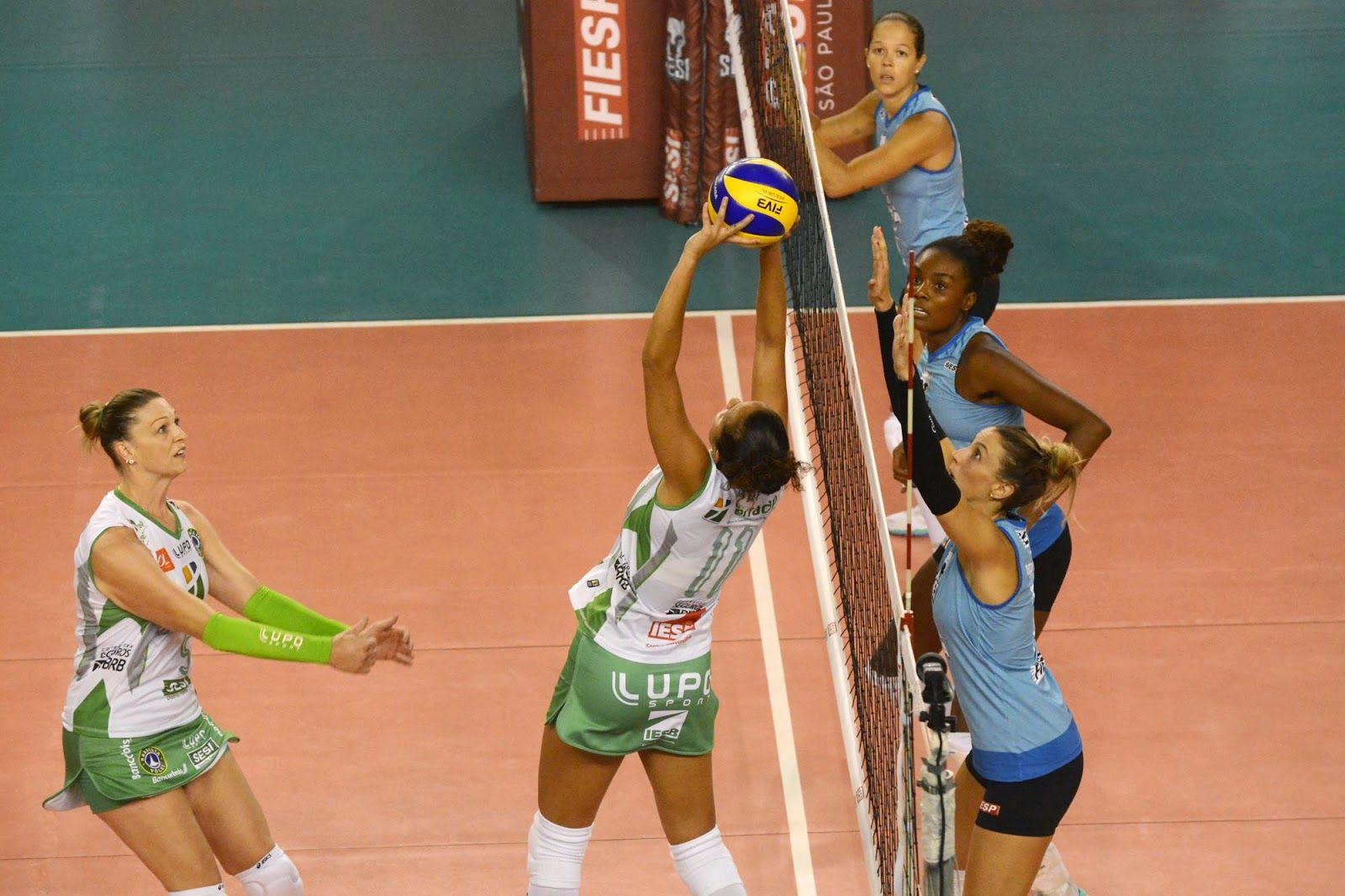 Blog Esportivo do Suíço: Sesi-SP abre série contra o Brasília com vitória nas quartas da Superliga