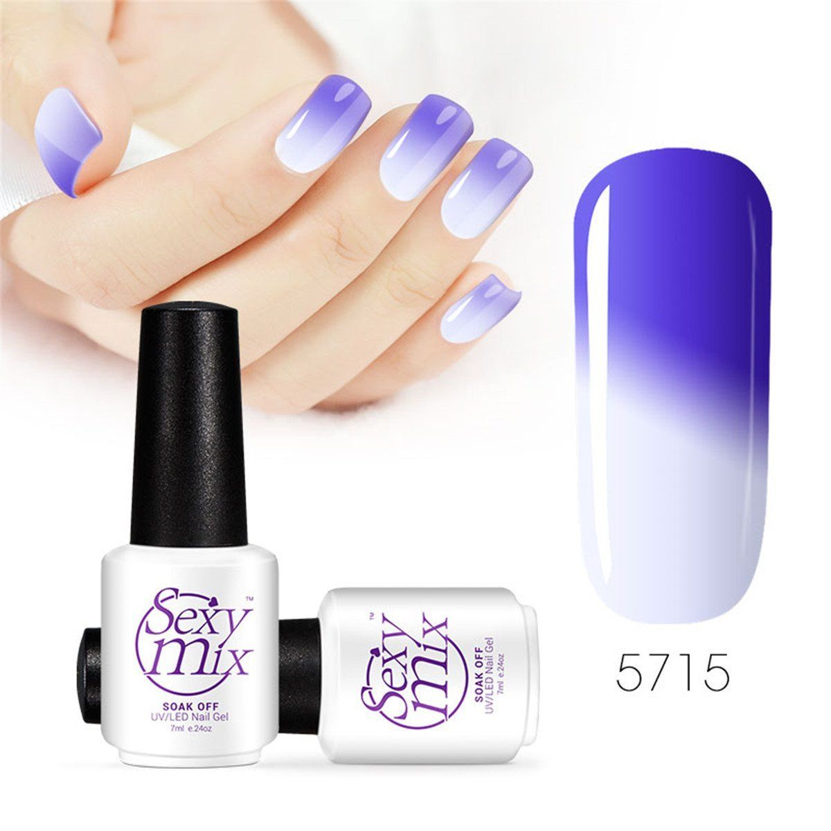 90d48acfc51 Sexy Mix Gel Nail Polish Colors Changing Nail Polish Pro Salon Nail Art  5715    You can find more details by visiting the image link.