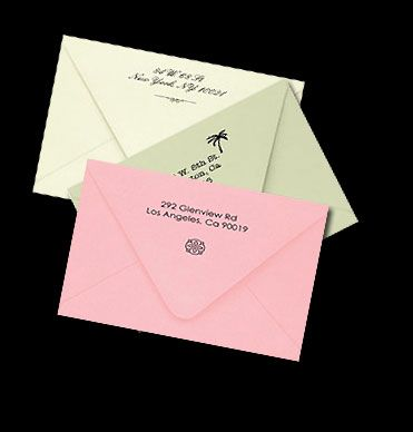 Addressing Envelope Printing Services For Your Unique Wedding Invitations