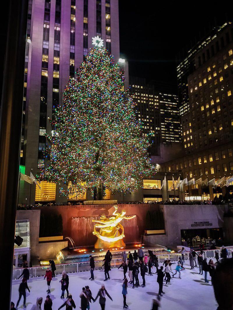 The Rockefeller Center Christmas TreeTop Tips for