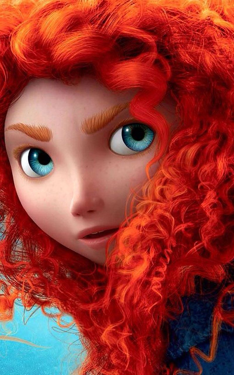 Merida Princess Wallpaper HD Dengan Gambar