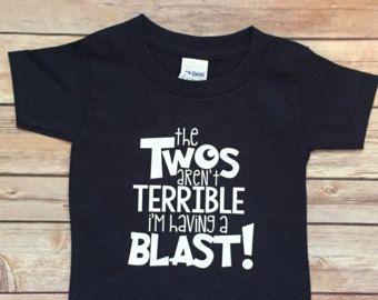 71ada0f20 2 year old birthday tshirt. Kids T-Shirt for birthday   Kids T ...