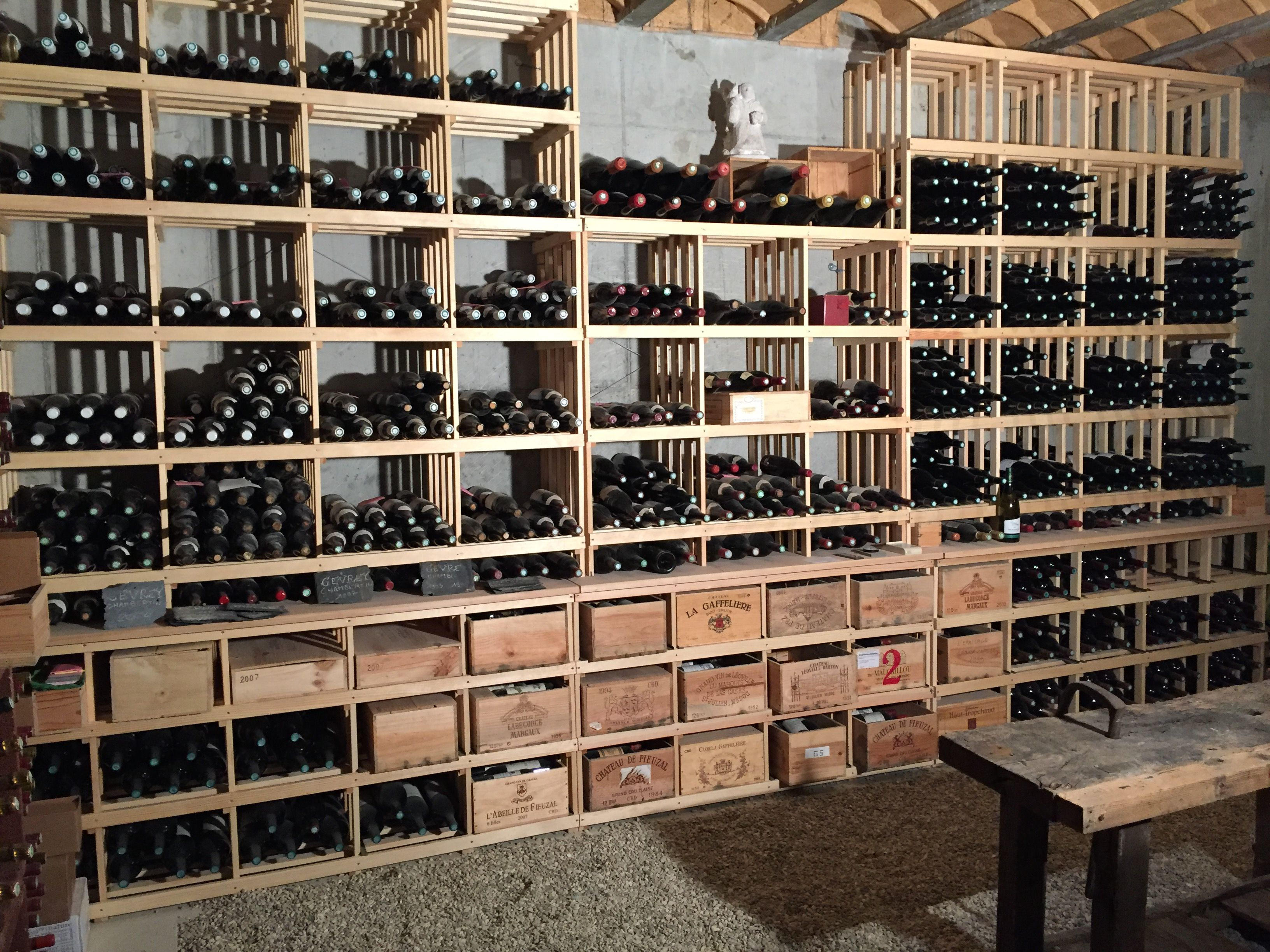 Casiers pour bouteilles, casier vin, cave à vin, rangement du vin, aménagement cave, casier bois ...