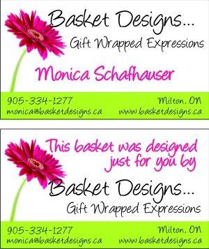 Basket Designs Gift Wred