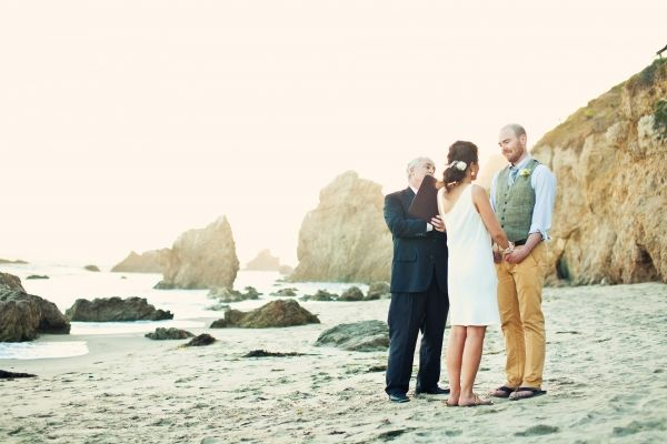 Waterside Malibu Elopement
