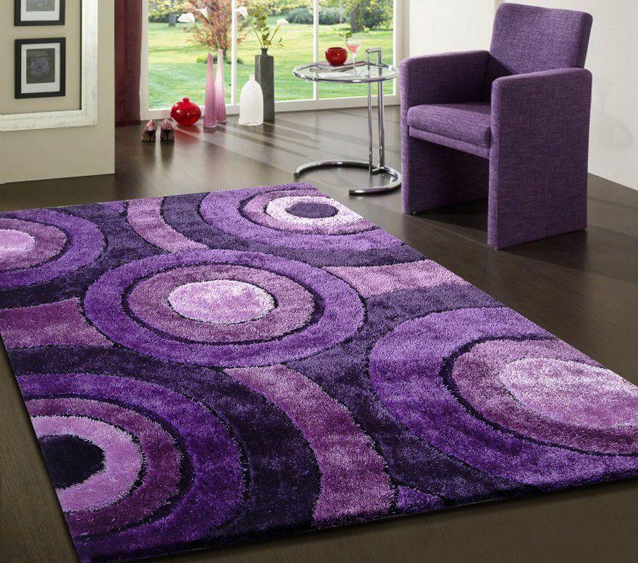 Sigiriya Hand Tufted Lavender Area Rug Purple Area Rugs Purple