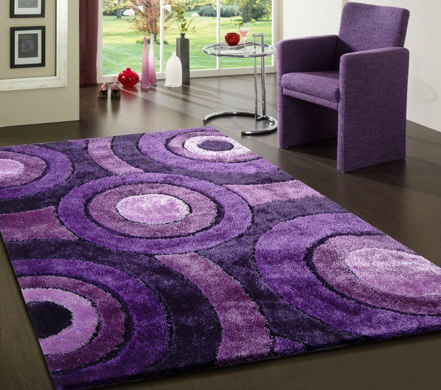 Sigiriya Hand Tufted Lavender Area Rug With Images Purple Area