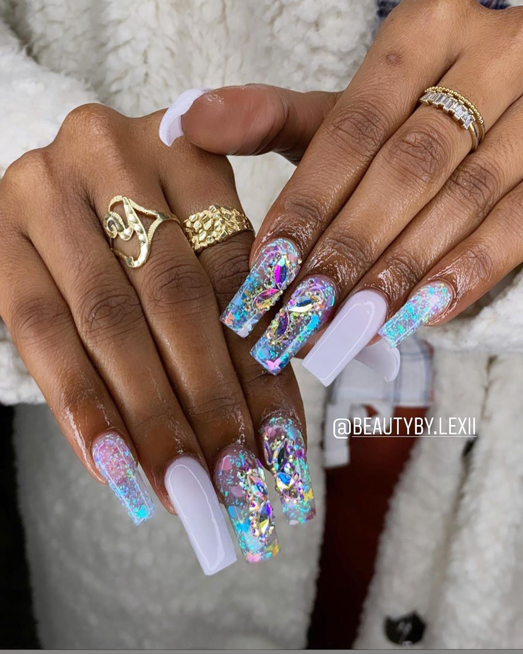 Thetriplethreatherself On Instagram Butterfly Freestyle Need An Appointment I Book Every Sunday In 2020 Acrylic Nails Instagram Story My Books