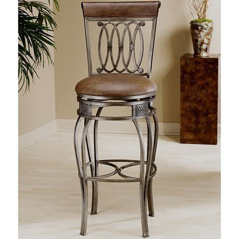 A Clic Bar Stool Pairs Nicely With Tuscan Inspired Kitchen