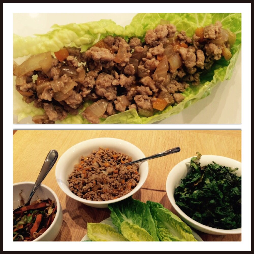 Chinese spiced Turkey mince with lettuce 'wraps' and stir ...