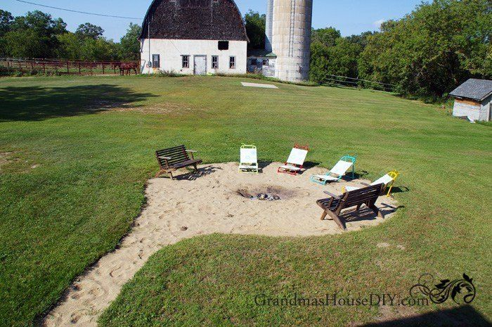 Turn Your Backyard into a Beachy Fire Pit | Low ...