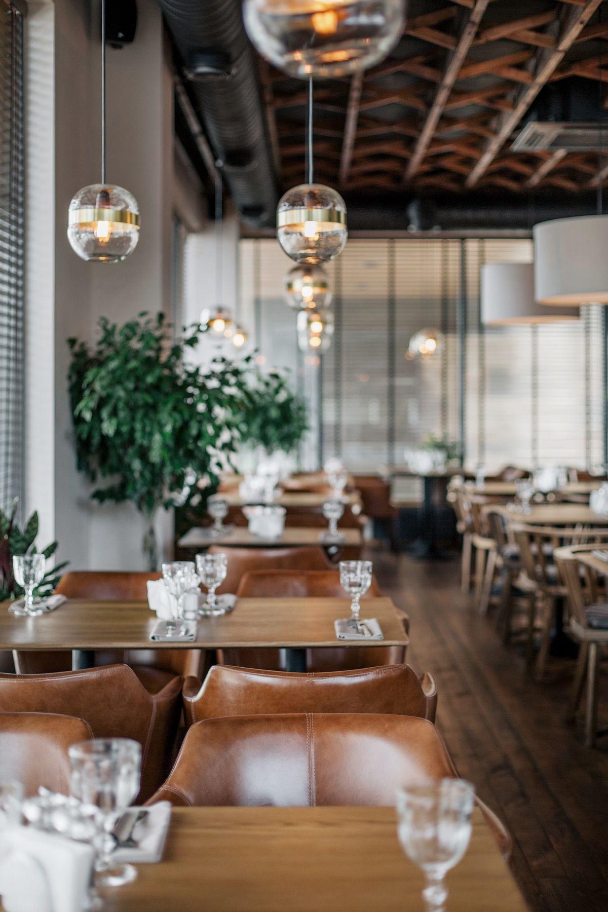 Yodezeen Created Casual Interior For Italian Restaurant Semifreddo