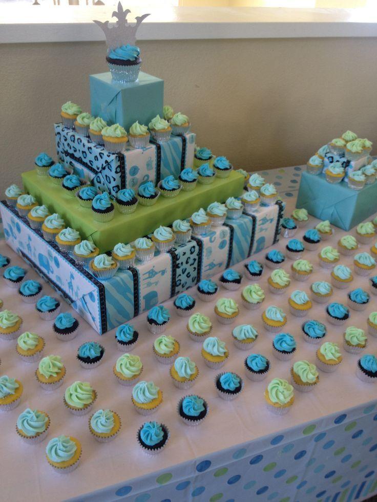 diy cupcake display ideas  cupcake display diy cupcakes, Baby shower invitation