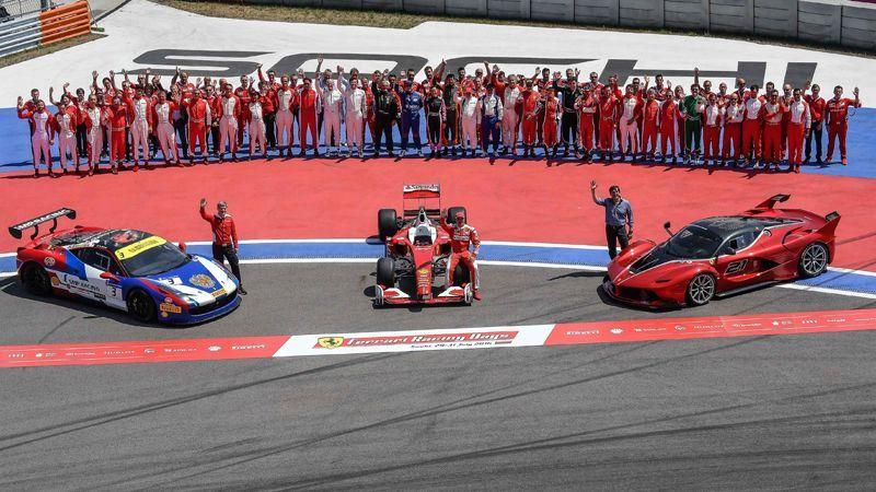 Ferrari Racing Days Goodbye Sochi! Over 20,000