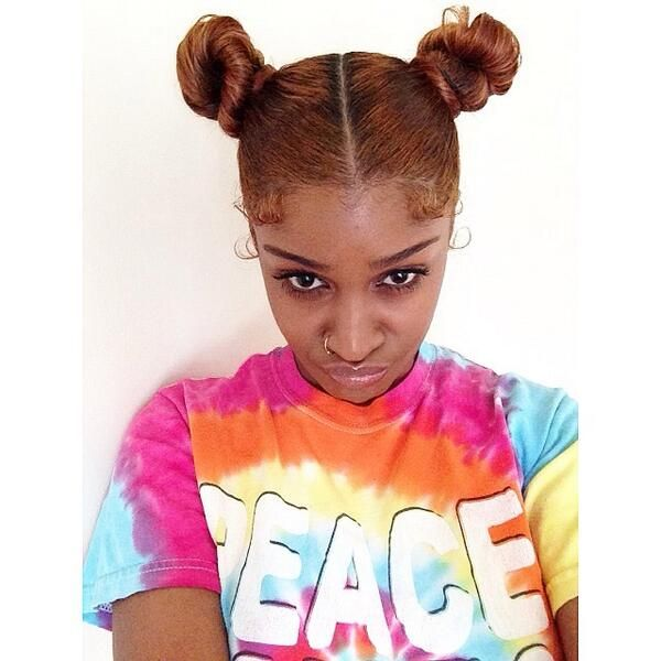 ♡Pinterest: @kekeisaunicorn (With images) | Hair styles, Bun hairstyles, Natural hair styles