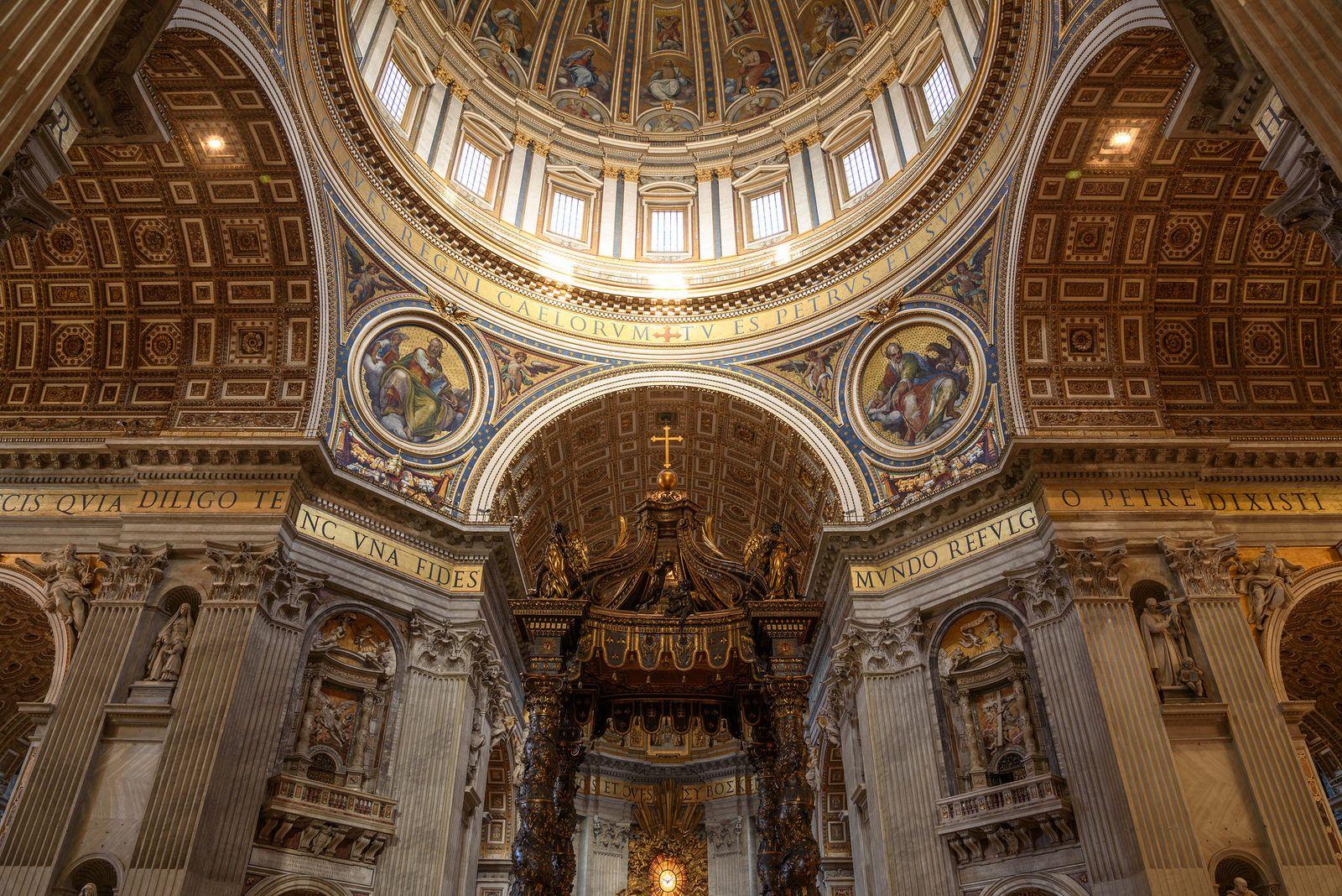 Città del Vaticano (Vatican City) - Basilica di San Pietro (Saint Peter's Basilica) | da bautisterias
